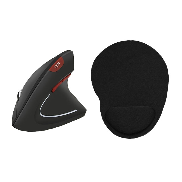 rato ergonomico e tapete de rato / ergonomic mouse
