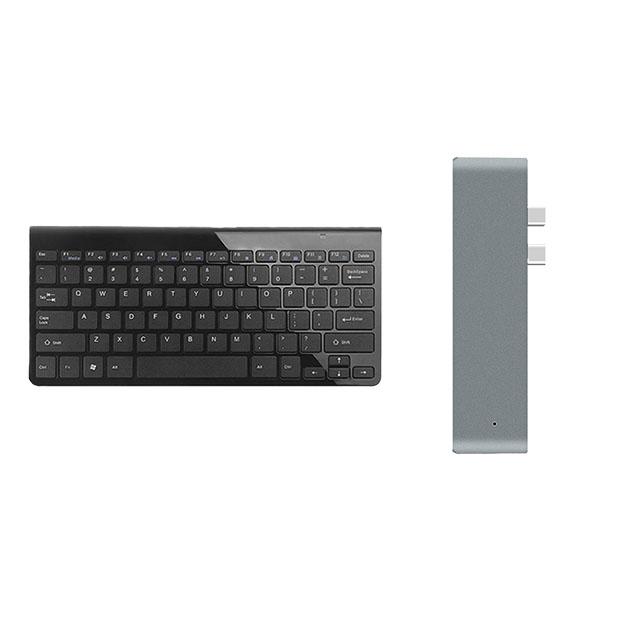 teclado e adaptador mac / keyboard and mac adapter